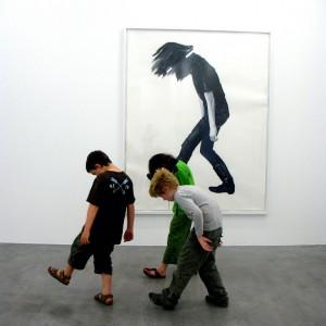 look at art